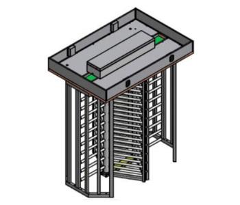 PT 2500 K Double Üç Kollu Boy Turnike Sistemi