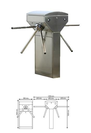 PT 450 Double Turnike Sistemi
